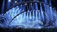 Das Bühnendesign für den ESC 2018 in Portguals Hauptstadt Lissabon ist maritim inspiriert. © eurovision.tv