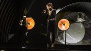 Ann Sophie auf der ESC Bühne in Wien. © Rolf Klatt / NDR Foto: Rolf Klatt
