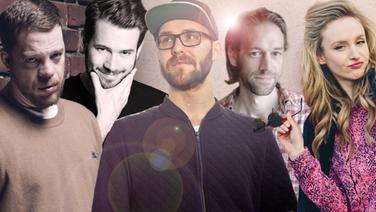 Ferris MC, Johannes Strate, Mark Forster, Swen Meyer, Leslie Clio (Bildmontage) © WARNER MUSIC GROUP GERMANY, Sector3 Live, Universal Music Fotograf: Sven Sindt, Felix Krüger, Robert Winter