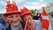 ESC-Fans in der Düsseldorfer Arena © NDR Fotograf: Foto Andrej Isakovic