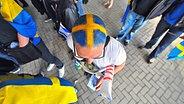 ESC-Fan in der Düsseldorfer Arena © NDR Fotograf: Andrej Isakovic