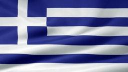 Flagge von Griechenland © Fotolia.com_7957857_S.jpg Fotograf: Griechenland_© Jürgen Priewe - Fotolia.com_7957857_S.jpg