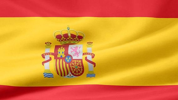 Flagge von Spanien © fotolia.com Foto: Jürgen Priewe