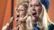 Abba beim Grand Prix d'Eurovision 1974