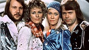 Pressebild von Abba aus den 70er Jahren, VL: Benny Andersson, Anni-Frid Lyngstad, Agnetha Fältskog und Björn Ulvaeus.