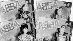 Abba-Puppen von Matchbox in den Siebzigern © picture-alliance / imagestate / HIP