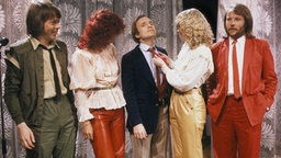 Abba in der US-Talkshow von Dick Cavett (1981) © picture-alliance / SCANPIX SWEDEN Foto: Stefan Lindblom