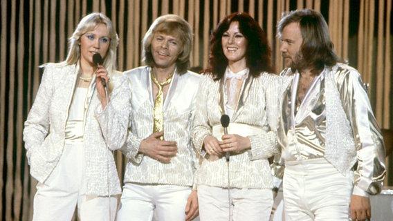 Die schwedische Band ABBA. © NDR