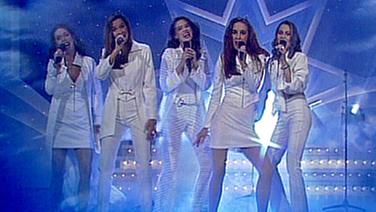All About Angels beim Vorentscheid zum Grand Prix d'Eurovision 1997