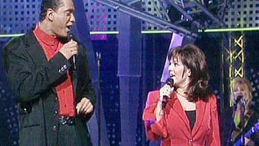 Brown, Maxine & Franklin beim Grand Prix d'Eurovision 1996 © NDR