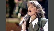 Carola beim Grand Prix d'Eurovision 1991