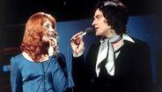 Cindy und Bert bei einem Auftritt in den Siebziger-Jahren. © dpa