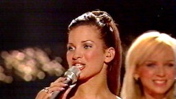 Claudia beim Eurovision Song Contest 2003