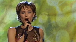 Francine Jordi beim Eurovision Song Contest 2002 © NDR