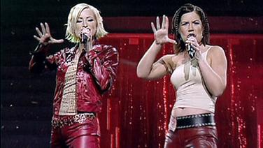 Friends beim Grand Prix d'Eurovision 2001