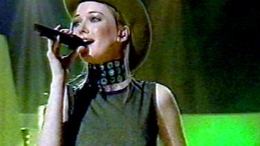 Ines beim Eurovision Song Contest 2000