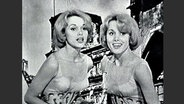 Alice und Ellen Kessler beim Grand Prix d'Eurovision 1959
