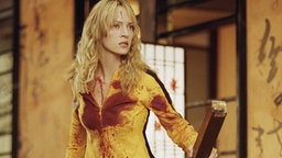 Uma Thurman in Kill Bill  © picture-alliance / Mary Evans Picture Library