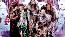 Die finnische Heavy-Metal-Band Lordi © Sony Music Entertainment Germany GmbH
