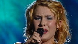 Malene beim Eurovision Song Contest 2002 © NDR