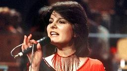 Marianne rosenberg 1975 beim deutschen vorentscheid zum grand prix