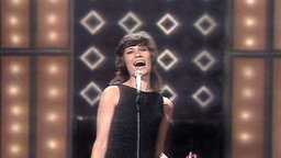 Mary Roos beim Grand Prix d'Eurovision 1972