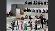 Mocedades beim Grand Prix d'Eurovision 1973