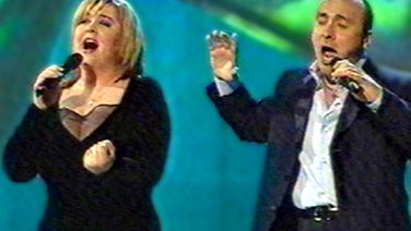 Monica Anghel & Marcel Pavel  beim Eurovision Song Contest 2002 © NDR