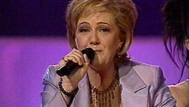 Nicki French beim Eurovision Song Contest 2000