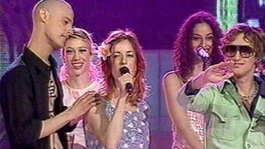 Ping-Pong beim Eurovision Song Contest 2000