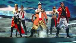 Pirates of the Sea aus Lettland © NDR Foto: Rolf Klatt