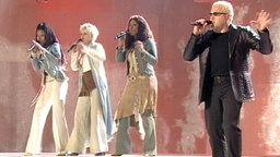 Sergio & the Ladies beim Eurovision Song Contest 2002 © NDR