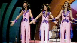 Silver Convention beim Grand Prix d'Eurovision 1977