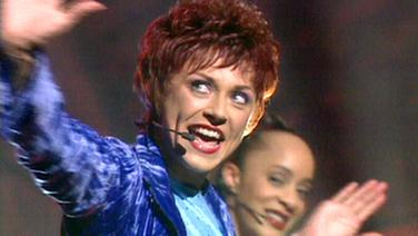 Bettina Soriat beim Eurovision Song Contest 1997
