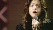 Vicky Leandros beim Grand Prix d'Eurovision 1972
