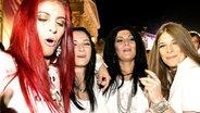 Las Ketchup aus Spanien in Party-Laune © NDR Fotograf: Rolf Klatt