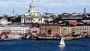 Blick auf den Hafen und den Senatsplatz von Helsinki. © Visitfinland Imagebank © Visitfinland Imagebank
