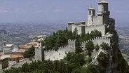 Die Festung Rocca Guaita in San Marino
