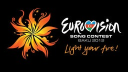 Motto und Logo des Eurovision Song Contest 2012 in Baku © Ictimai TV / EBU