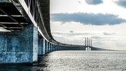 Die Öresundbrücke zwischen Malmö und Kopenhagen © Janus Langhorn/imagebank.sweden.se