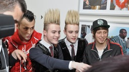 "Jedward bei ""Eurovision in Concert"" in Amsterdam © NDR Fotograf: Patricia Batlle"