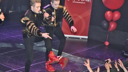 "Jedward bei ""Eurovision in Concert"" in Amsterdam"