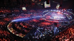 Die Bühne in der Altice Arena in Lissabon. © eurovision.tv Foto: Andres Putting