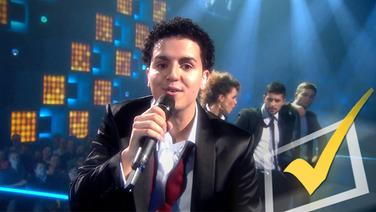 "Basim im Video ""Cliche Love Song""."