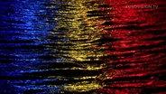 Flagge von Rumänien. © DR Foto: Treshow