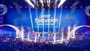 Der Opening Act beim Junior Eurovision Song Contest im polnischen Gliwice.  Foto: Thomas Hanses