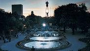 Der Brunnen am Tivoli in Kopenhagen © Wonderful Copenhagen Fotograf: Morten Bjarnhof