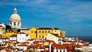 Das Stadtviertel Alfama in Lissabon. © www.visitlisboa.com