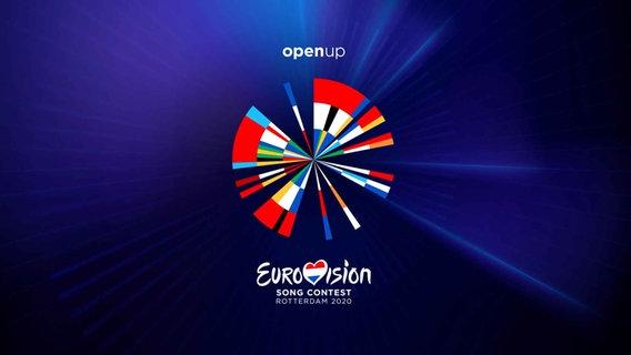 Das offizielle Artwork zum Eurovision Song Contest 2020 in Rotterdam.  Foto: NPO