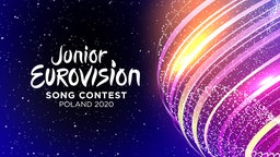 Das Logo des Junior Eurovision Song Contest 2020 in Warschau.  Foto: TVP/EBU